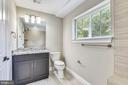 Third Level Bath - 2902 LINDEN LN, FALLS CHURCH