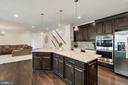 Kitchen - 23955 MILL WHEEL PL, ALDIE
