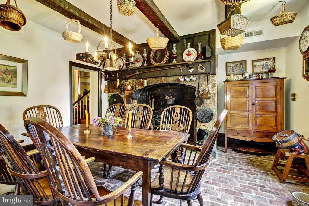 Family Dining Room/Original Kitchen - 13032 HIGHLAND RD, HIGHLAND