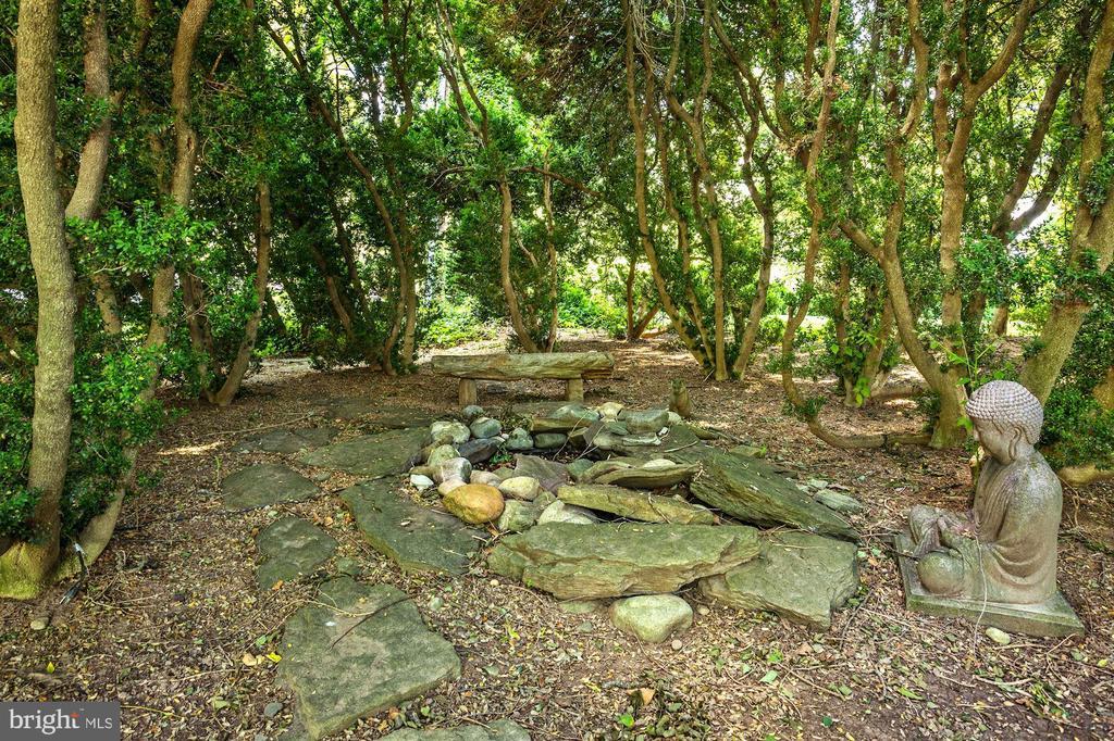 Meditation Garden & Goldfish Pond - 13032 HIGHLAND RD, HIGHLAND