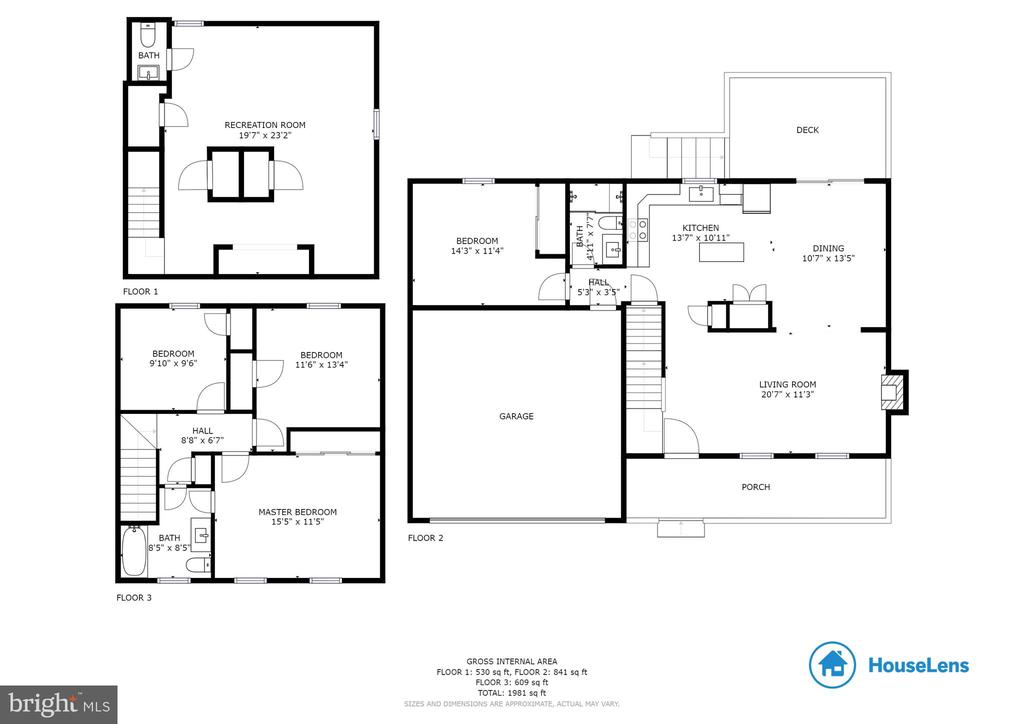 Floor Plan - 15691 PIKE TRL, DUMFRIES