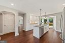 Kitchen with granite and stainless steel appliance - 15012 CLOVER HILL RD, WATERFORD