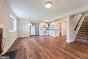Basement in-law suite with Kitchen and Fireplace - 15012 CLOVER HILL RD, WATERFORD