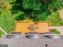 Aerial View of Deck - 15012 CLOVER HILL RD, WATERFORD