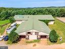 Front View of Barn with 21 Stalls - 15012 CLOVER HILL RD, WATERFORD