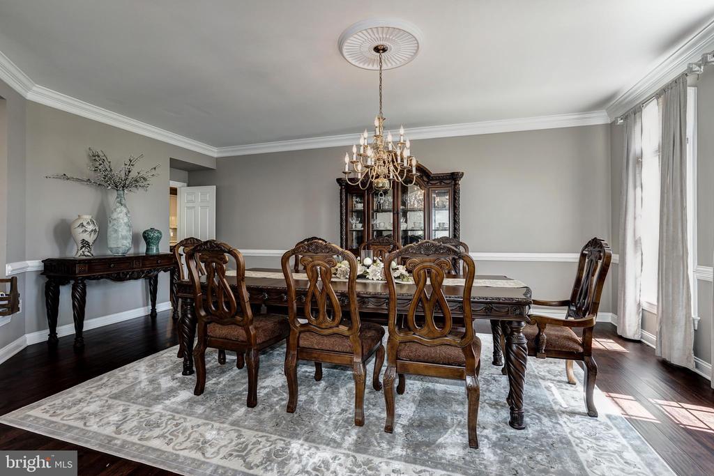Dining room - 2924 FOX MILL MANOR DR, OAKTON
