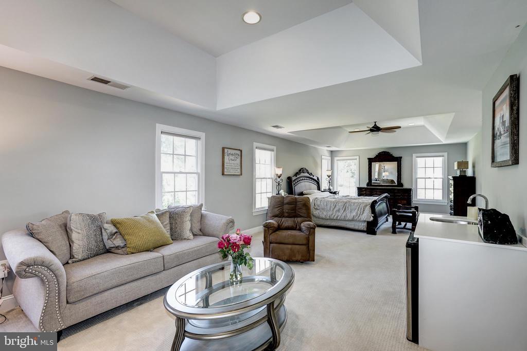 Master Bedroom / sitting room - 2924 FOX MILL MANOR DR, OAKTON
