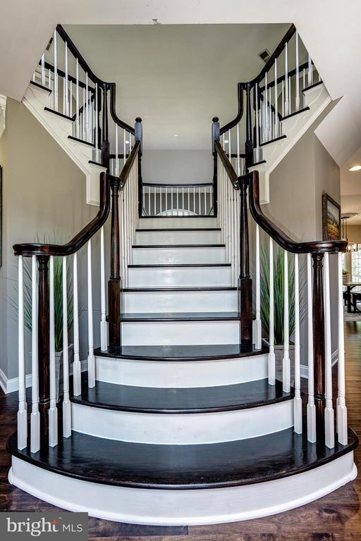 Stairs - 2924 FOX MILL MANOR DR, OAKTON