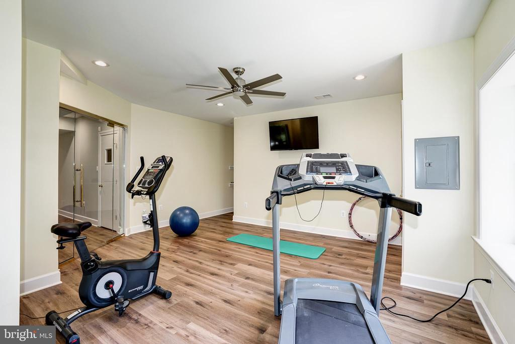 Excercise room - 2924 FOX MILL MANOR DR, OAKTON