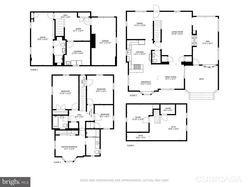Desirable Expanded Floor Plan - 4513 EDGEFIELD RD, KENSINGTON