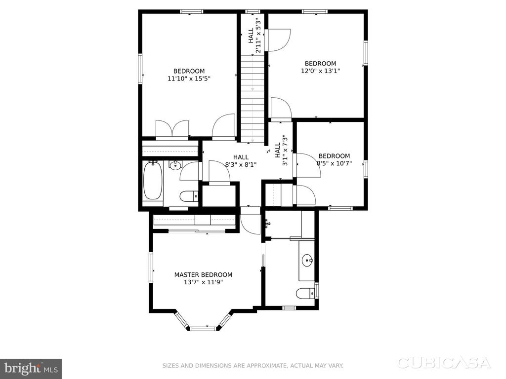 Upper Level with Addition - 4513 EDGEFIELD RD, KENSINGTON