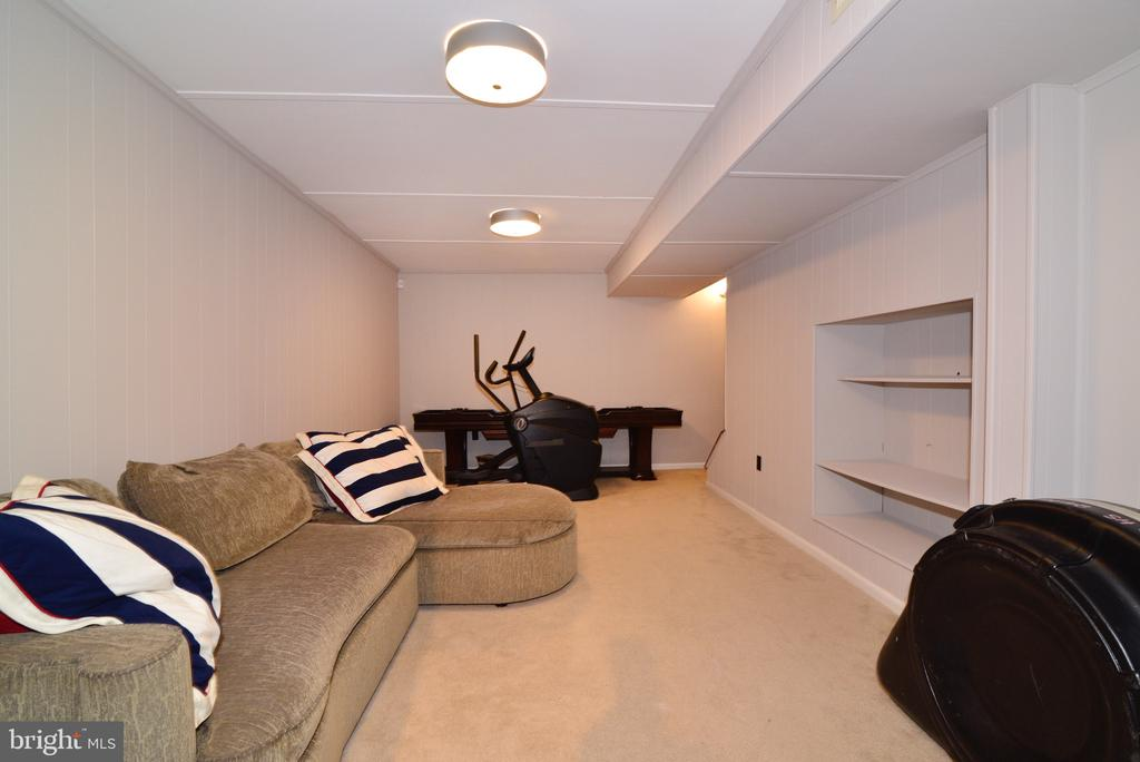 Basement Family Room - 3229 AUTUMN HILL CT, HERNDON