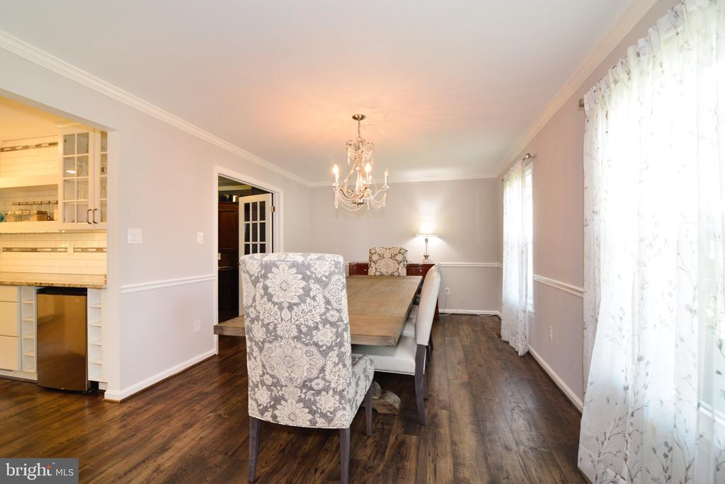 Dining Room View - 3229 AUTUMN HILL CT, HERNDON