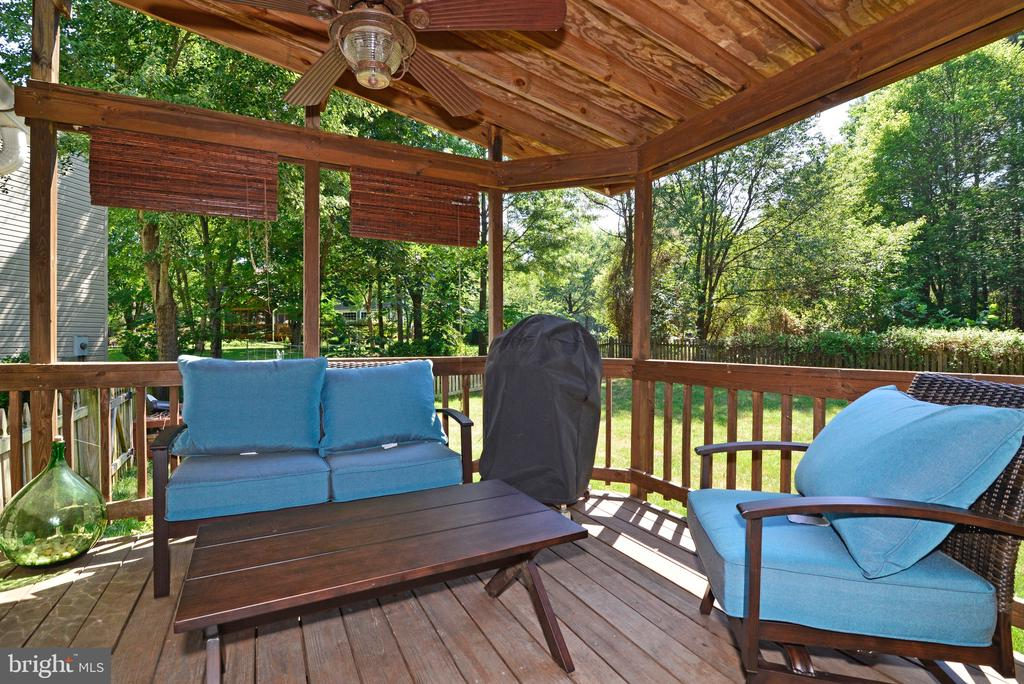 Enjoy your Morning Coffee Outside - 3229 AUTUMN HILL CT, HERNDON