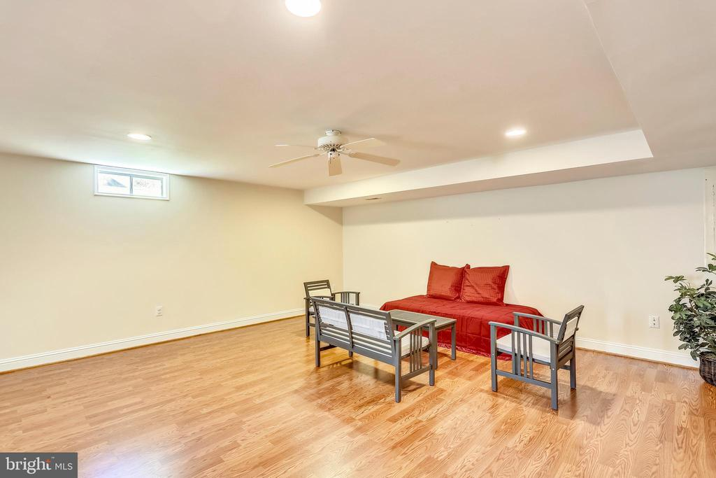 Large Finished Rec Room in Basement - 19209 AUTUMN MAPLE LN, GAITHERSBURG