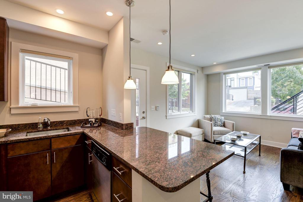 First floor unit, private entrance and metering. - 717 HOBART PL NW, WASHINGTON