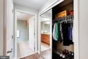 Second closet in master room - 888 N QUINCY ST #312, ARLINGTON
