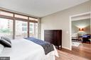 Balcony access - 888 N QUINCY ST #312, ARLINGTON