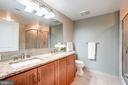 Double sink vanity with granite countertop - 888 N QUINCY ST #312, ARLINGTON