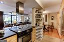 Kitchen Open to Dining Rm. and Living Rm. - 3800 FAIRFAX DR #111, ARLINGTON