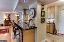 Kitchen Bar/Counter. - 3800 FAIRFAX DR #111, ARLINGTON
