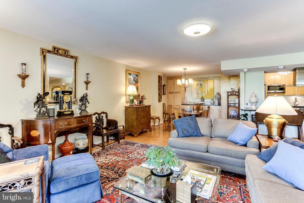 Living Room - 3800 FAIRFAX DR #111, ARLINGTON