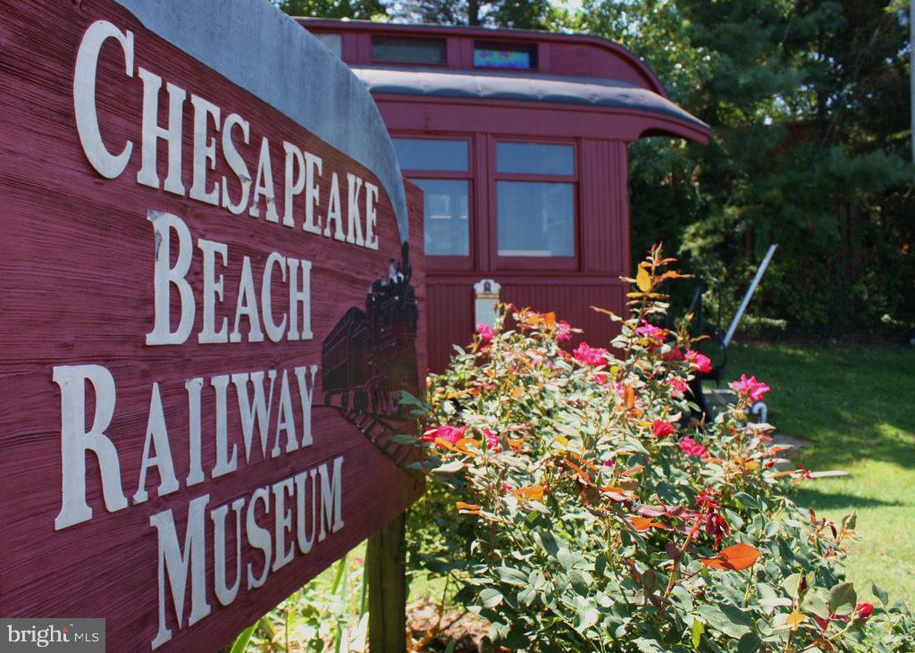 Chesapeake Beach Railroad Museum - 3216 INA CHASE, CHESAPEAKE BEACH