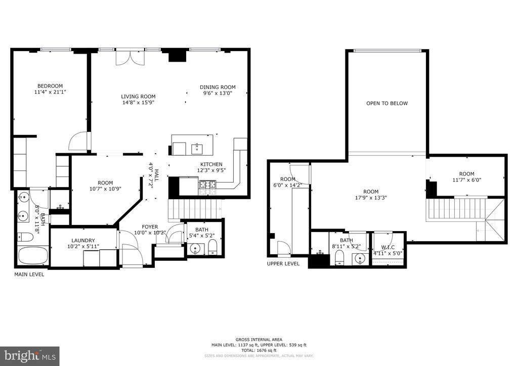 Floorplan - 38 MARYLAND AVE #PH613, ROCKVILLE