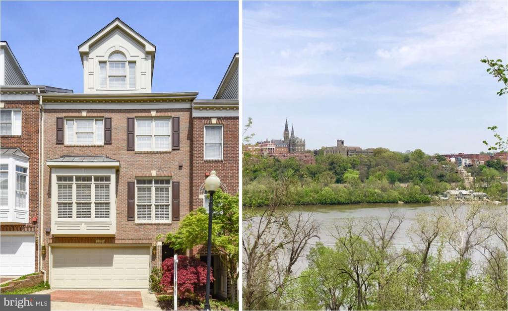Views of Georgetown/Potomac River // Walk to Metro - 2215 N OAK CT, ARLINGTON