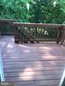 Back deck facing woods - 309 WESTMINSTER LANE, STAFFORD