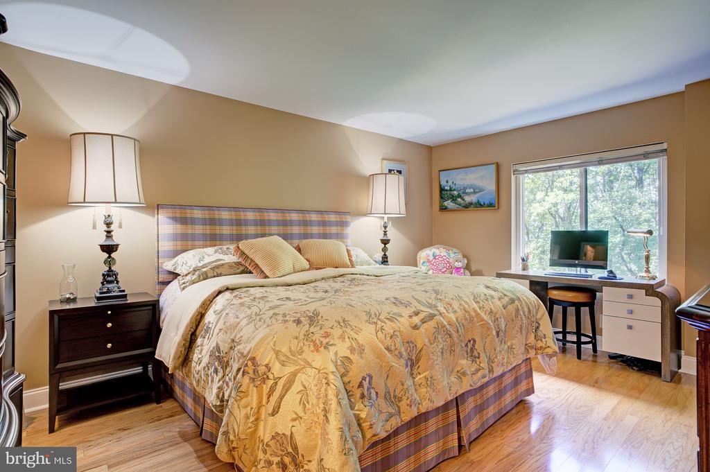 Spacious, light filled bedroom with walk-in closet - 8370 GREENSBORO DR #118, MCLEAN