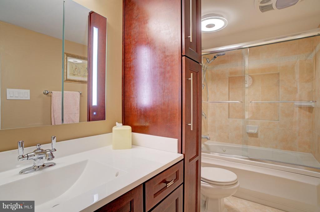 Gorgeous custom bath - 8370 GREENSBORO DR #118, MCLEAN