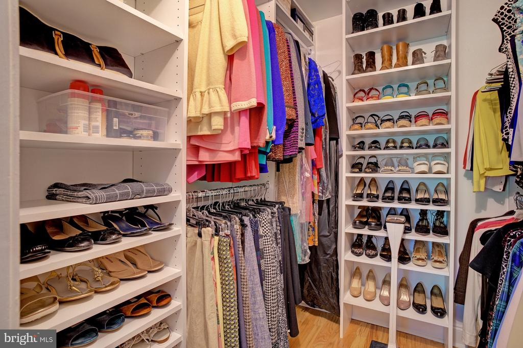 Custom walk-in closet - 8370 GREENSBORO DR #118, MCLEAN