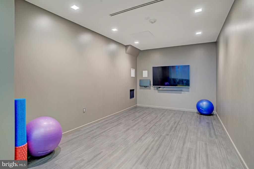 Newly renovated yoga studio - 8370 GREENSBORO DR #118, MCLEAN