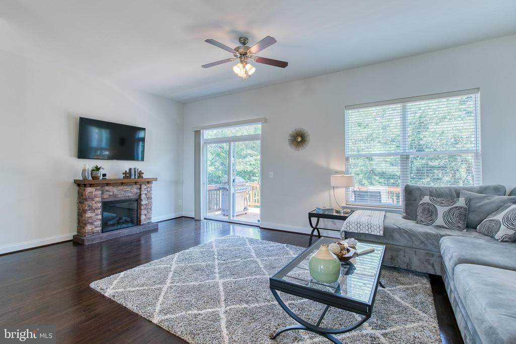 Nice size family room - 225 COBBLE STONE DR, WINCHESTER