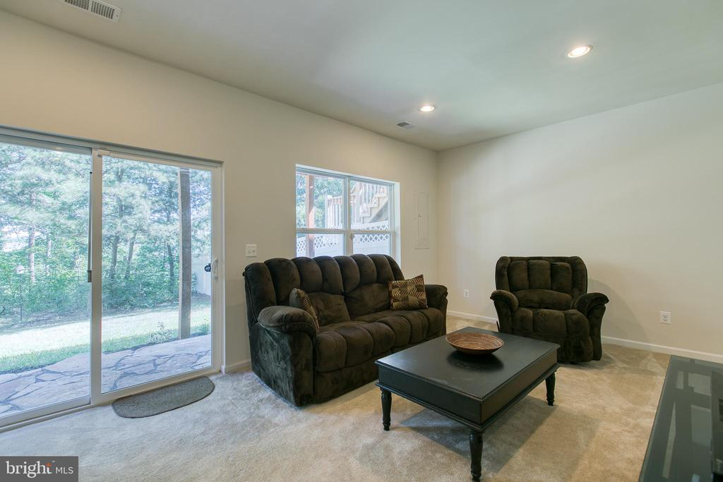 Basement - tree line view! - 225 COBBLE STONE DR, WINCHESTER