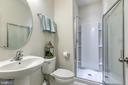 Basement bath - 225 COBBLE STONE DR, WINCHESTER