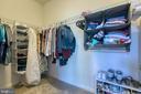 Master - walk-in-closet - 225 COBBLE STONE DR, WINCHESTER