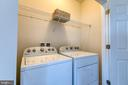 Laundry on bedroom level! - 225 COBBLE STONE DR, WINCHESTER