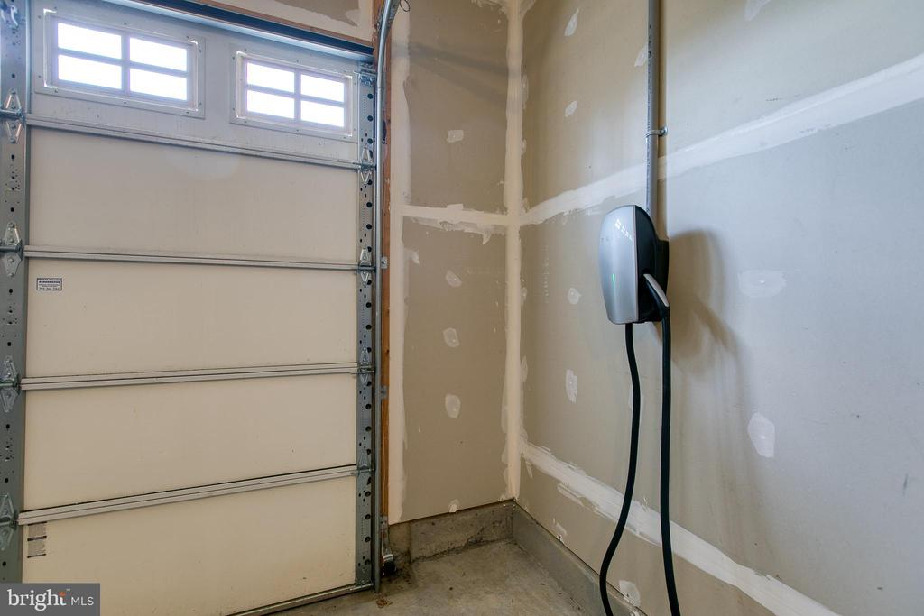 Tesla - car charger in garage (Negotiable) - 225 COBBLE STONE DR, WINCHESTER