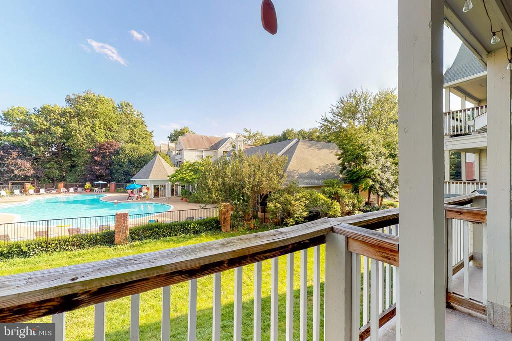 Another view from deck - 3903 PENDERVIEW DR #1526, FAIRFAX
