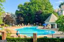Community pool (and gym) - 3903 PENDERVIEW DR #1526, FAIRFAX