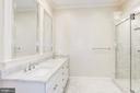 Main level master/in-law suite Bathroom - 120 KINGSLEY RD SW, VIENNA