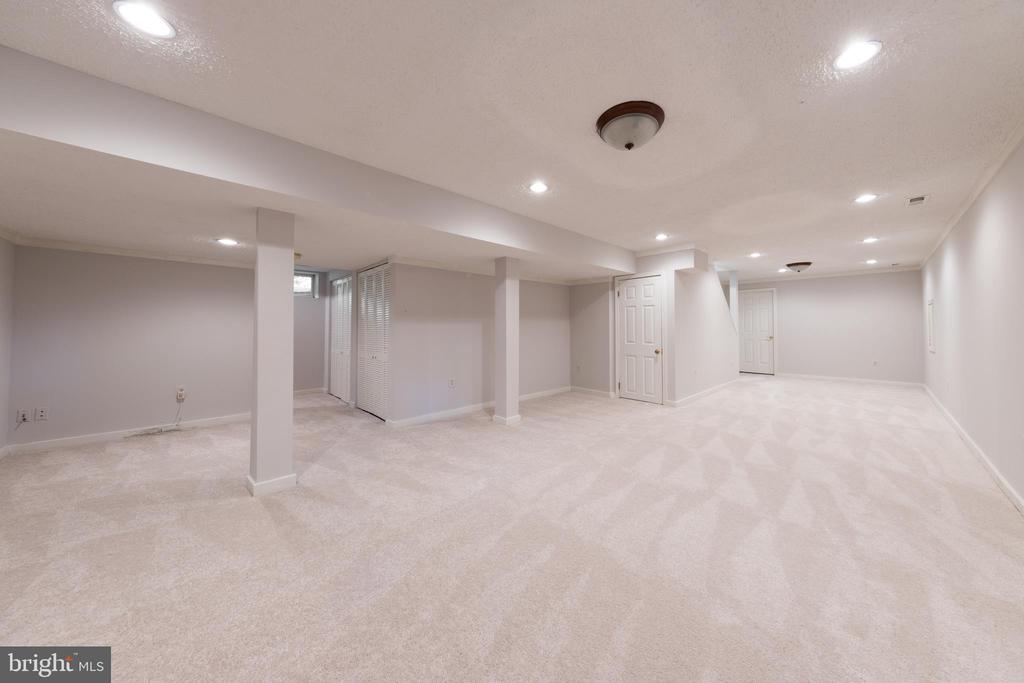 Finished basement ready to live and play in! - 7100 LAKETREE DR, FAIRFAX STATION