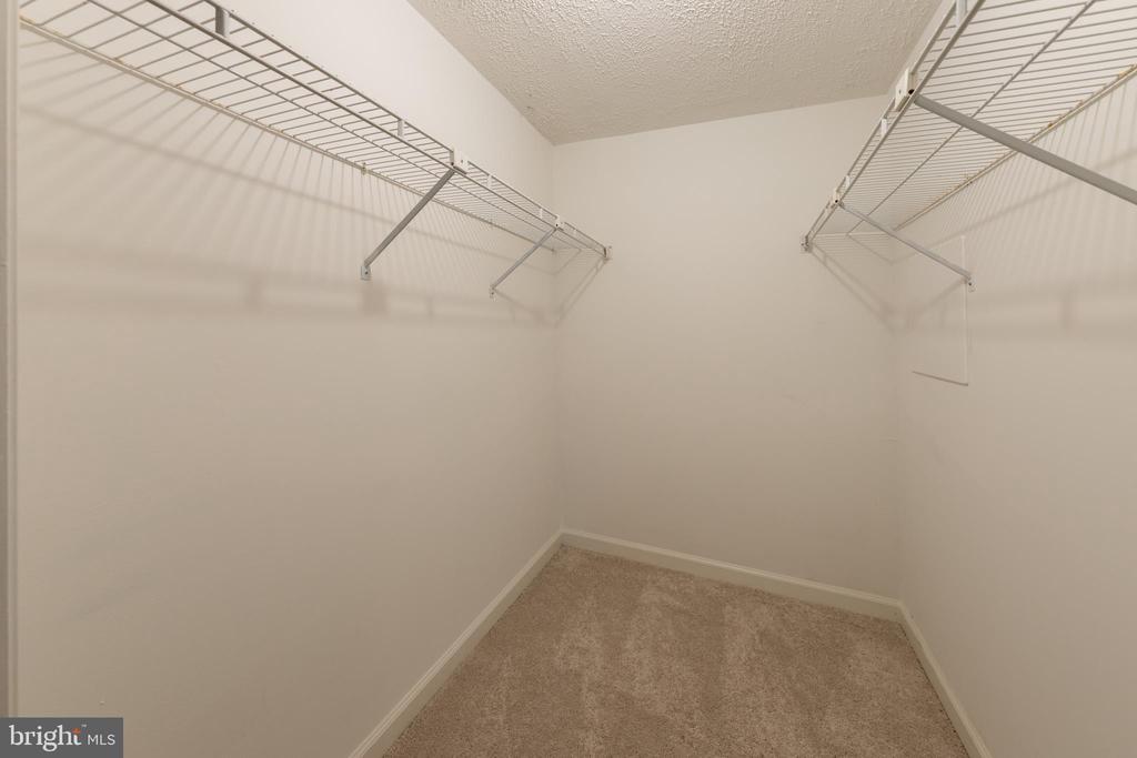 Large walk-in closet off basement flex room - 7100 LAKETREE DR, FAIRFAX STATION