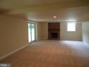 Great room in basement - 13426 CAVALIER WOODS DR, CLIFTON