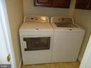 Washer Dryer in main level - 13426 CAVALIER WOODS DR, CLIFTON