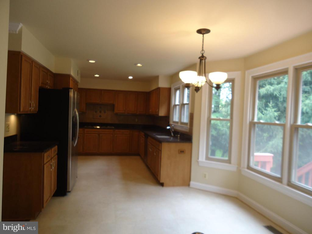 Kitchen with big ESIK - 13426 CAVALIER WOODS DR, CLIFTON
