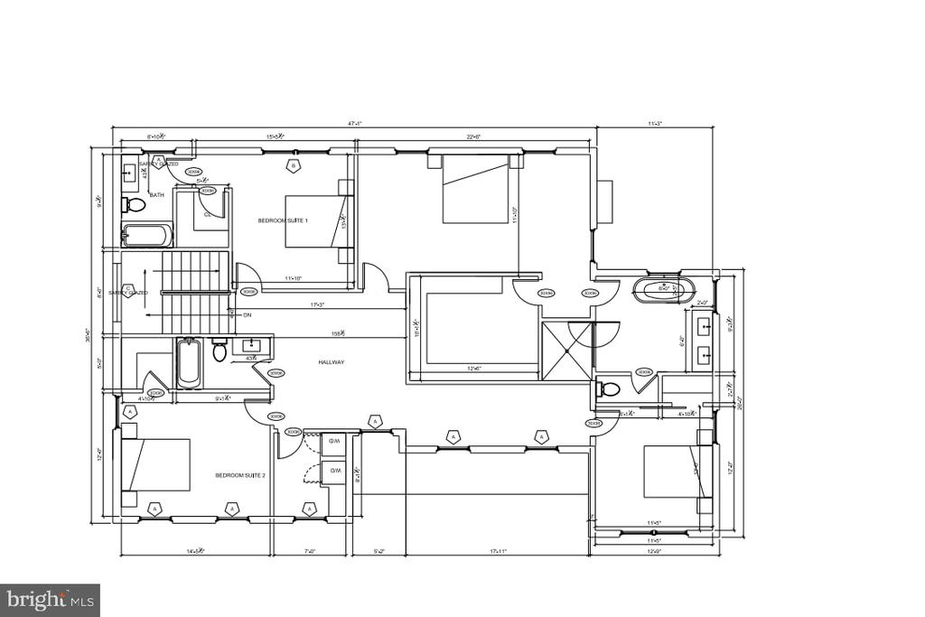 Upper Level Floor Plan - 7014 31ST ST NW, WASHINGTON