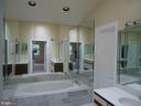 Master bathroom - 13426 CAVALIER WOODS DR, CLIFTON